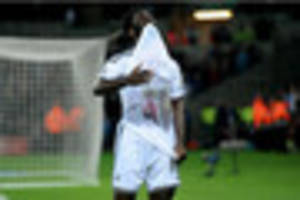 ​Who is Wilfried Bony dedicating his first goal to in this...